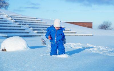 Śniegowe zabawy